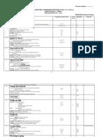 Planificare 11CAE Plus