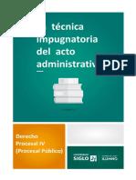 2 - La técnica impugnatoria del acto administrativo (18)