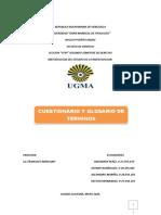 CUESTIONARIO Y GLOSARIO DE TERMINOS.