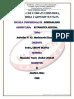 ACTIVIDAD Nº 13_MEDIDAS_DE_DISPERSION_ALEXANDER_LAURA_ESTADISTICA_CONTABILIDAD II.pdf