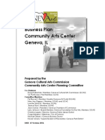 2016 10 27 Community Arts Center Business Plan
