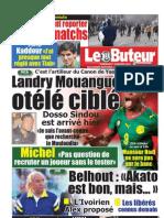 LE BUTEUR PDF du 07/01/2011