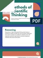 Methods of Scientific Thinking
