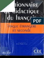 Dictionnaire de Didactique
