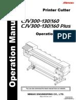 Mimaki CJV300,CJV300Plus_OperationManual_e