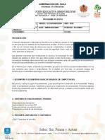 DESARROLLO DEL PENSAMIENTO OCTAVONOVENO-SEGUNDO PERIODO