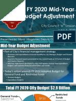 Mid-Year Budget Presentation June 4