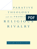Comparative Theology and the Problem of Religious Rivalry-Hugh Nicolson-Oxford University Press (2011)