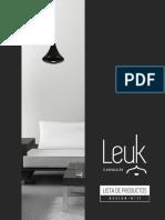 Lista de Productos - Design - Leuk