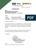 OFICIO N° 676 - DUGEL-UGEL N°08 CAÑETE