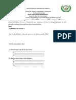 Summer Class Formative Assessment