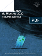Resumen Ejecutivo Riesgos Globales 2020