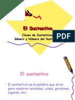 TEMA 1.2. - SUSTANTIVOS