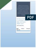 EVOLUCION DEL ESTADO PERUANO