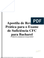 Apostila Exame Crc