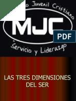 LAS TRES DIMENSIONES DEL SER (1).pps