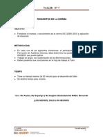C-BCM-AI Taller 7 Requisitos Norma