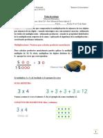 Guía 4° de multiplicaciones y divisiones 4° básico