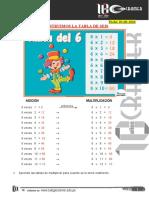 CONSTRUIMOS LA TABLA DE 6 (03-06-2020)