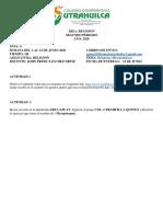 SEMANA DEL 1 AL 12 DE JUNIO GUIA 4° QUINTO(4)