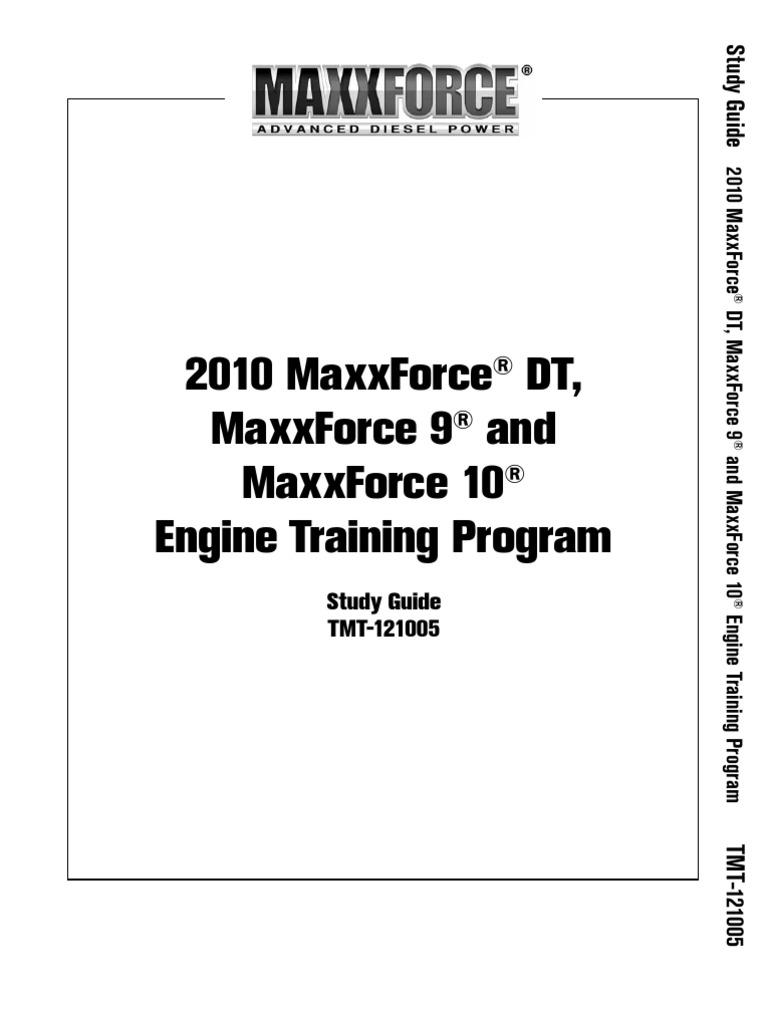 Maxxforce Diesel Engine Diagram | Wiring Library