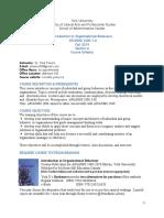 1-ADMS 2400 A Favaro Syllabus Falll 2019