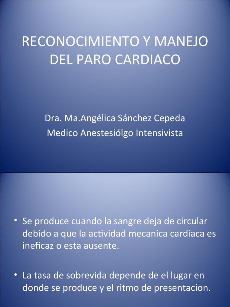 Angelica Cepeda reconocimiento y manejo del paro cardiaco 2