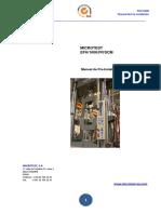 Pre Instalación EFH1000 MICROTEST