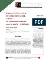 Icono14. A9/V1. Marina Núñez o la construcción del cíborg. Un discurso multimedia entre la utopía y la distopía