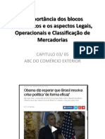 Blocos economicos continuacao - ABC DO COMÉRCIO EXTERIOR- 7 PERÍODO 2016 GXUPE UNIFEG