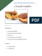 Guia Acaraje e Abara Da Bahia PDF Download