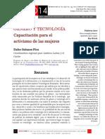 Icono14. A9/V1. Género y tecnología. Capacitación para el activismo de las mujeres