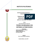 tesis de sistema de trituracion, disolucion y plachado para el reciclaje del papel.