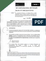 Osce Tce Aplic Non Bis in Idem Res 1969-2019