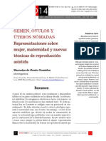 Icono14. A9/V1. Semen, óvulos y úteros nómadas. Representaciones sobre mujer, maternidad y nuevas técnicas de reproducción asistida