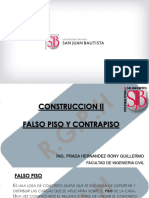 FALSO PISO Y CONTRAPISO SEM 3
