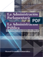 ADMINISTRACIÓN PARLAMENTARIA VS. ADMINISTRACIÓN PÚBLICA