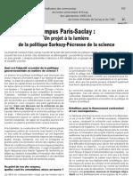 Campus Paris-Saclay
