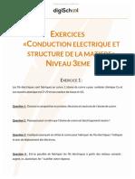 Exercices-conduction-electrique-et-structure-de-la-matiere-physique-chimie-3eme