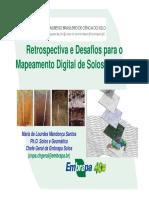 retrospectivas e desafios para o mapeamento digital de solos