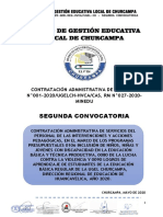 BASES CAS 001_2020_UGEL CHURCAMPA_SEGUNDA CONVOCATORIA FINAL
