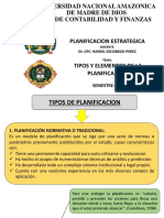 2- Tipos y elementos de Planificacion