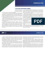 Impactos da pandemia da covid-19 no setor transportador brasileiro