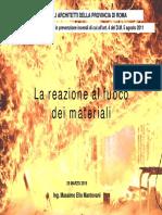 Reazione al fuoco