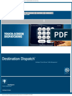 Destination Dispatch™ - Intelligent Touch-Screen Traffic Management - Computerized Elevator Contr