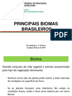 AULA 2 INTRODUÇÃO  Biomas