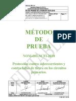 Proteccion contra sobrecorrientes y contra fallas de tierra en los circuitos primarios