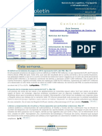 Boletín 03 - 207. Implicaciones de la regulación de Costos de Transporte