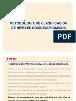 101 Niveles Socioeconomicos de Lima 3600 Encuestados Apeim 45 v (1)