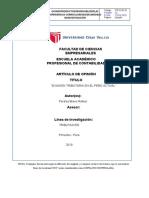 EVASION TRIBUTARIA-ARTICULO DE OPINIÓN (1)